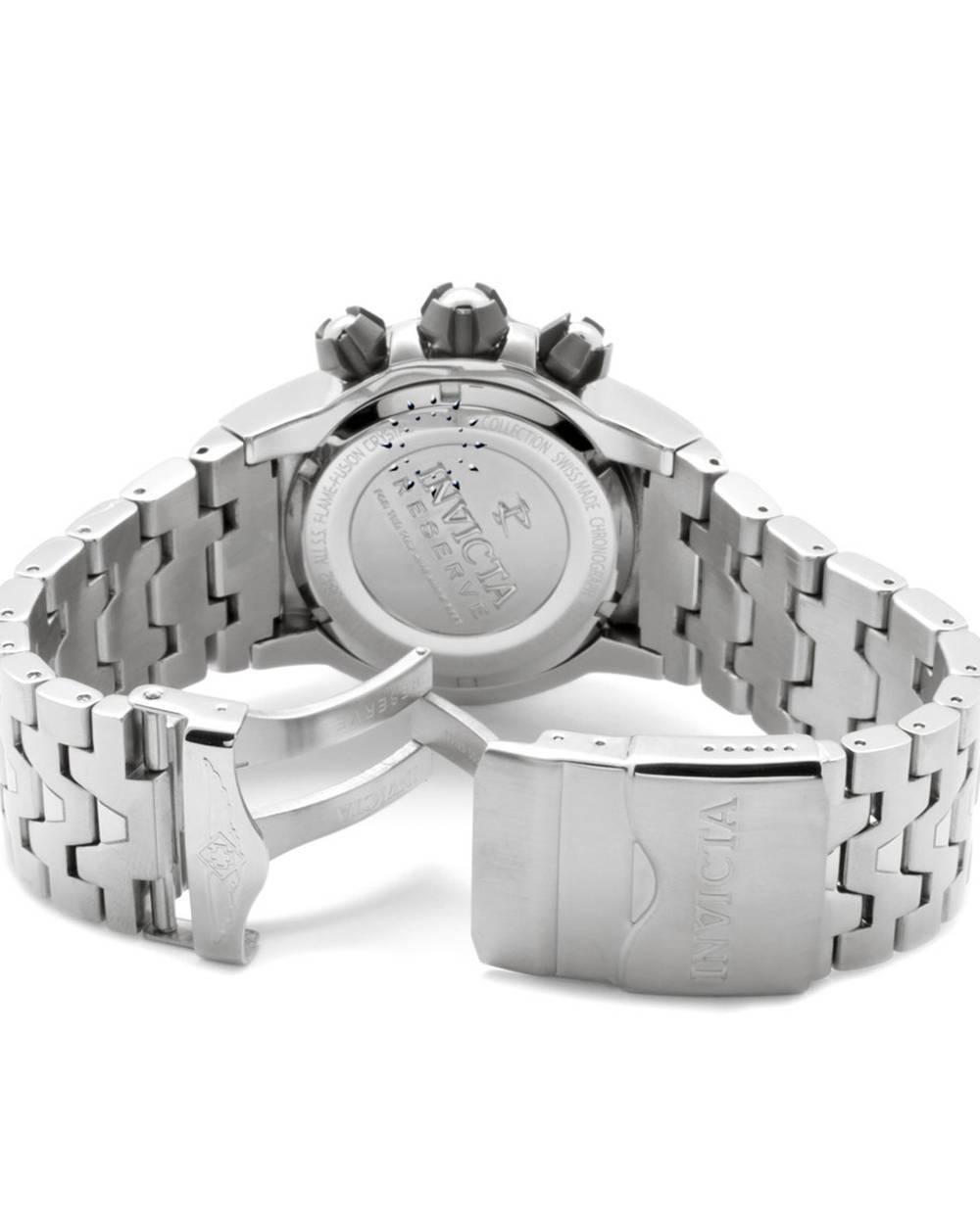 invicta excursion chrono stainless steel bracelet