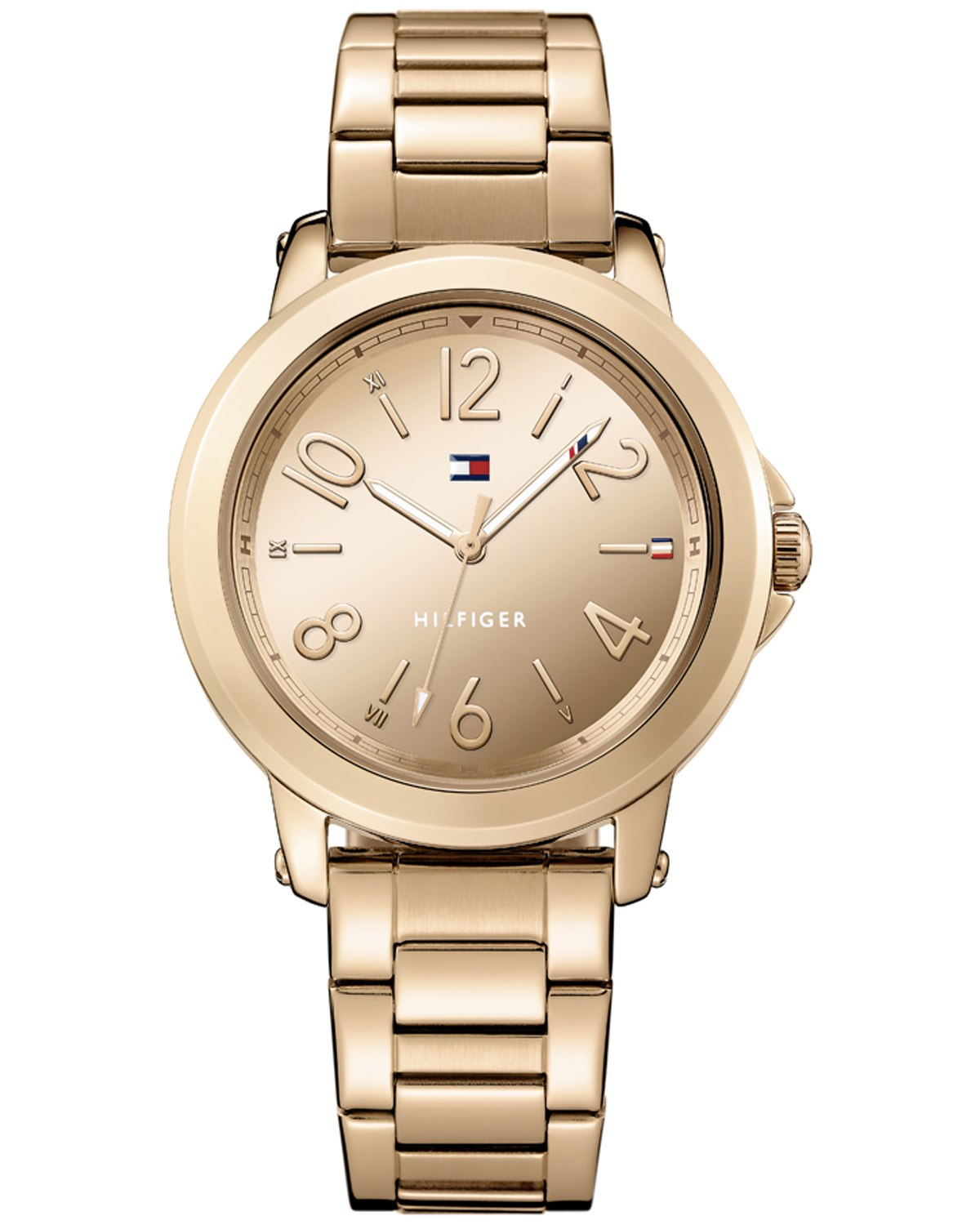 mmy hilfiger rose gold stainless steel bracelet. Black Bedroom Furniture Sets. Home Design Ideas